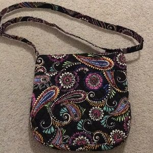 Vera Bradley hipster and a keychain. New